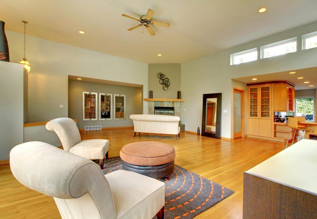 a comfy living room