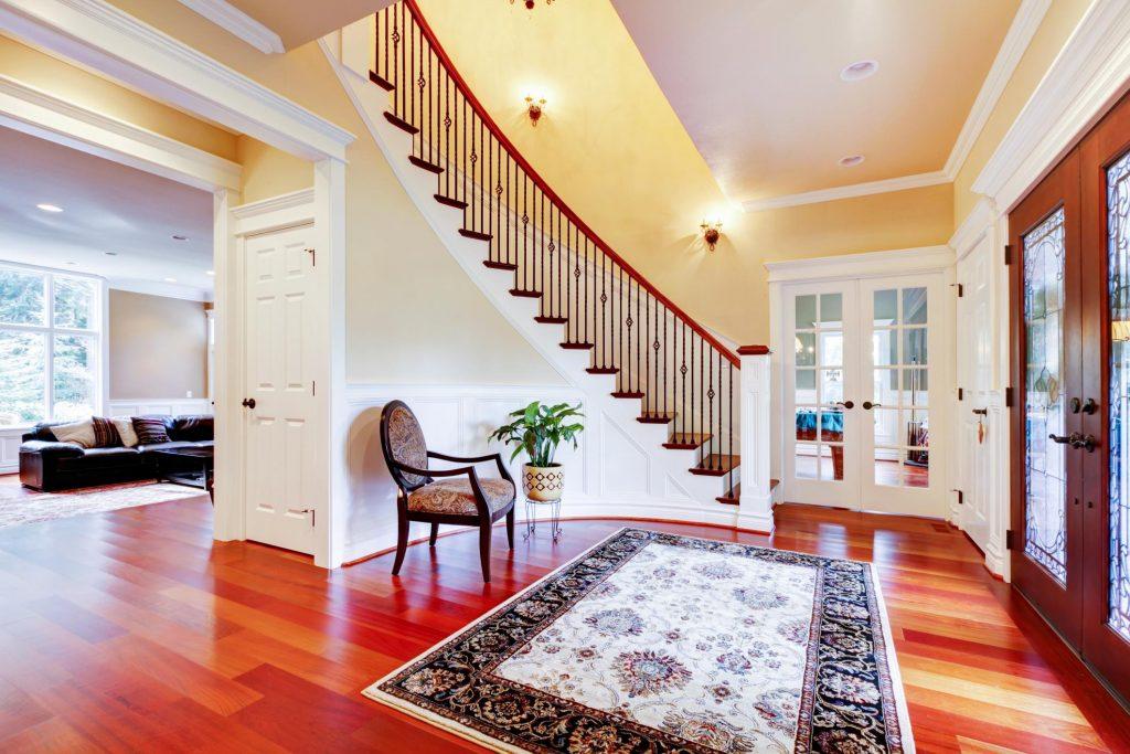 a nice elegant house